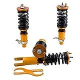 maXpeedingrods Kits de Coilover Amortiguador Muelle de Suspensión para Civic EG EG6 EG9 EH VX 91-95