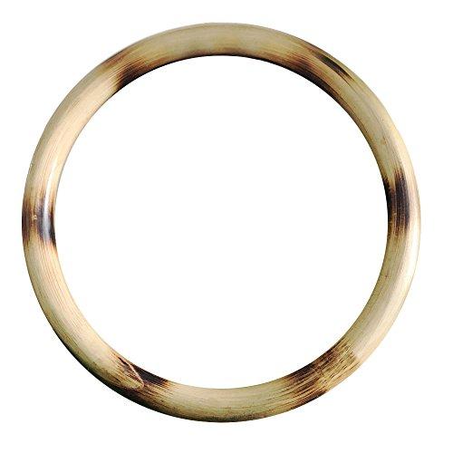 ZooBoo Wing Chun Rattan Ring - Natural Wood Rings Wing Tsun Kung Fu Wrist Hand Strength Training Equipment Yewen Sau Sticky IP Man Siu Lum Kung Fu Rings - Rattan 9 inch (9 inch)