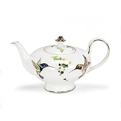 Abbott Collection Ambrosia Hummingbird Teapot
