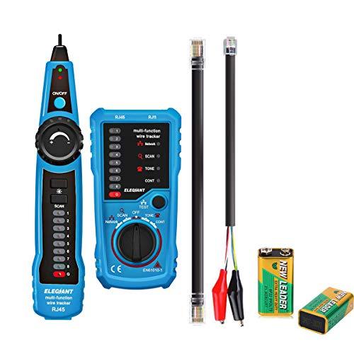 Comprobador de red telefónica, cable Finder RJ11 RJ45, cable Line Finder, multifunción, Ethernet, LAN, red telefónica y detector de línea