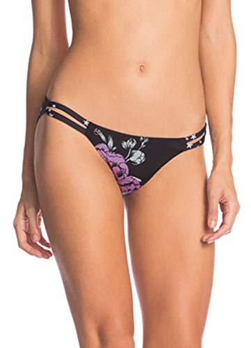Maaji Women's Standard Starry Verona Bikini Split Strap Signature Cut, Black, LG