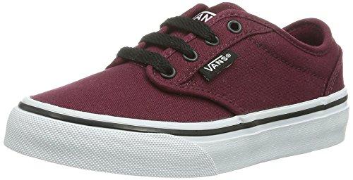 Vans Atwood Unisex-Kinder Sneakers, Rot ((Canvas) oxbloo DDU), 32.5 EU