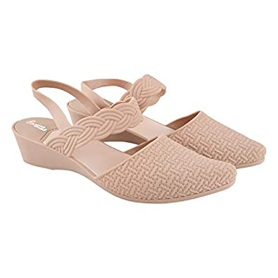 TATTOOZ PVC Flat Fashion Sandals for Women Open Toe Ankle Belt Strappy Floater Footwear Comfortable Sliders Casual Ladies Outdoor Sandal