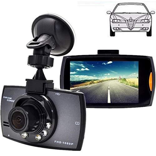 Dash Cam 1080P Full HD 2.7 Pollici Dashboard Camera Car Recorder con Pratico 120 ° Wide Angle, GPS Posizionamento remoto, Riproduzione Traccia, Una velocità di promemoria, monitoraggio del parcheggio