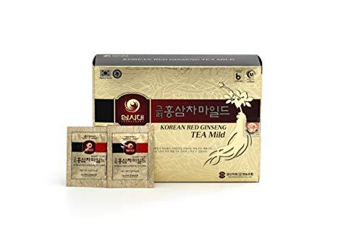 Koreanischer Ginseng Teebeutel, 50 Beutel, fördert Durchblutung und Gedächtnis