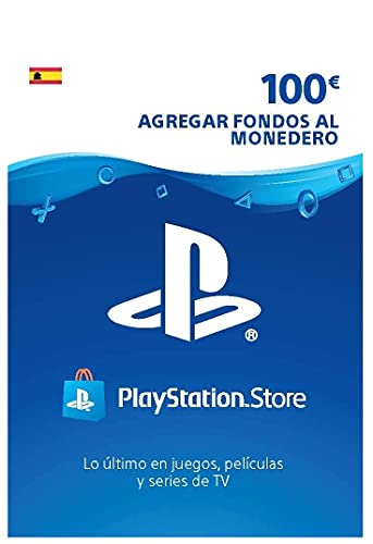 Sony, PlayStation - Tarjeta Prepago PSN 100€ | PS5/PS4/PS3 | Código de descarga PSN - Cuenta española