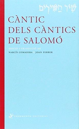 Càntic dels Càntics de Salomó (Sagrats i Clàssics)