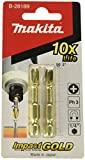 Makita B-28189 B-28189-Puntas de atornillar Impact Gold Torsion Philips ph3x50mm-BLister 2...