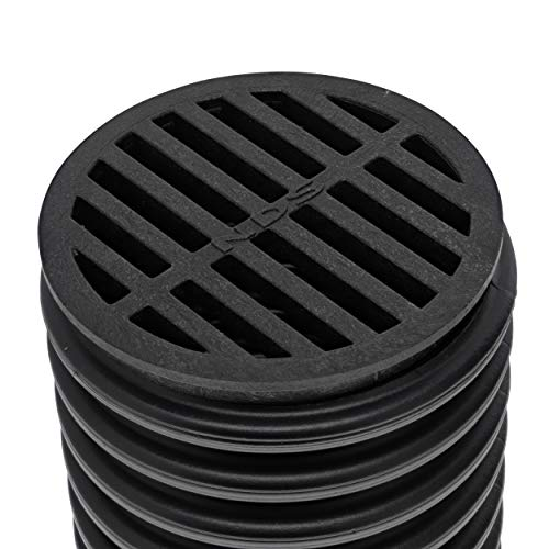 NDS 11 Round Grate, 4-Inch, Fits 4 in. Drain Pipes