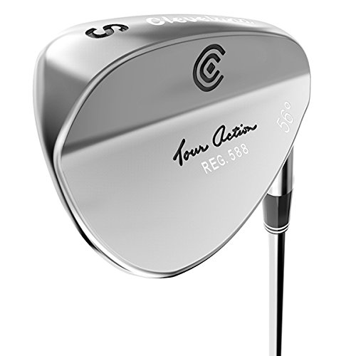 Cleveland Golf 588 Tour Action Wedge, Herren, Tour Satin, Black/Green/Gray/Brown, Large