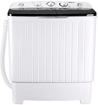 Portable Washing Machine TACKLIFE 17 6 lbs Mini Compact Twin Tub Washing Machine Wash 11lbs product image