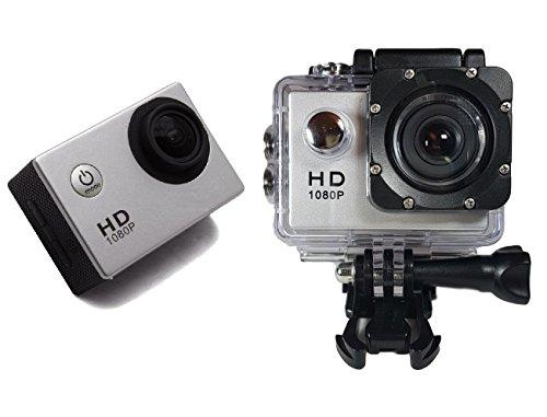 Smartex | New ProCam Lite Sport HD 1080p con Kit Accessori - Action Camera, Display LCD 2 pollici, Lente 140°, Waterproof, Videocamera Pro Go Kart Sci Scuba Diving Sport Estremi