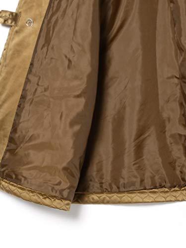 『[ビームスボーイ] コート キルティング チャイナ コート レディース キャメル Free Size』の7枚目の画像