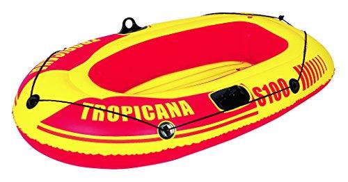 Jilong Canotto Tropicana S100, Canotto, 150x100x26cm, Giallo/Rosso