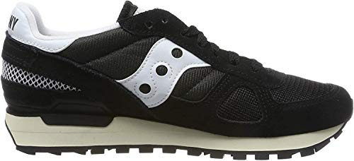 Saucony Shadow Original Vintage, Scape per Sport Outdoor Uomo, Nero (Black/White 2), 42.5 EU
