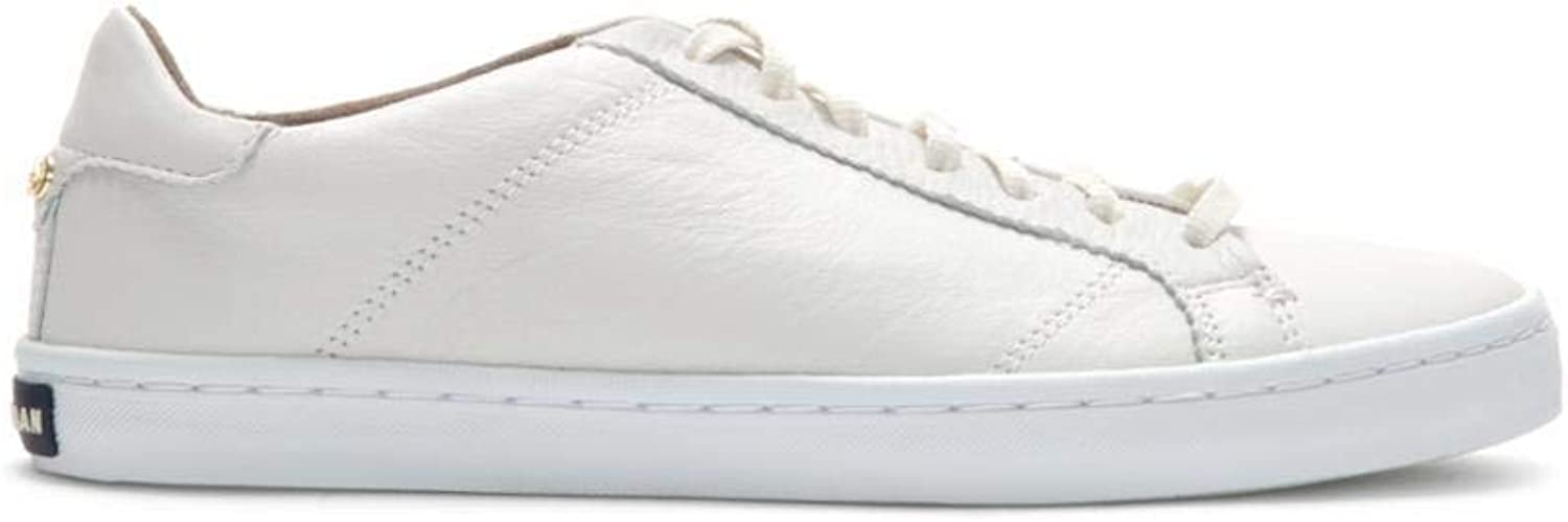 Cole Haan Women's Margo Lace Up W07341 Optic White White Lea M