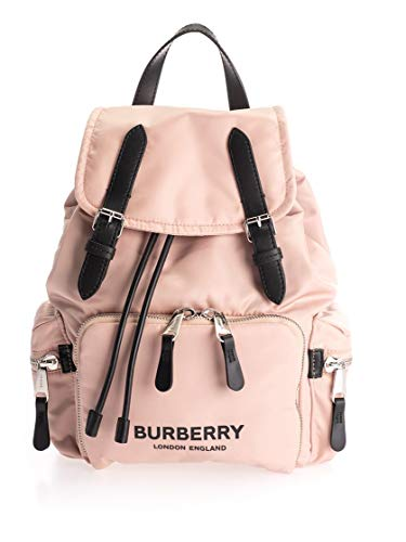 Luxury Fashion | Burberry Dames 8021264 Roze Leer Rugzak | Herfst-winter 19