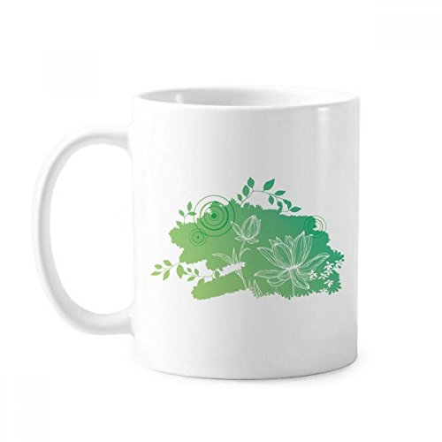 Lotusblume, Froschblätter, Pflanze, Keramik, Kaffee, Porzellan