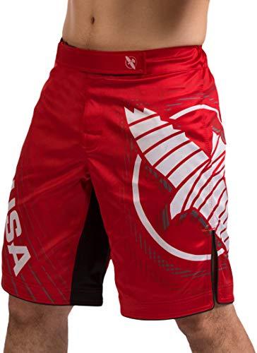 Hayabusa Chikara 4 MMA Kampfshorts, Herren, rot, Large