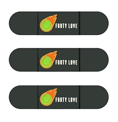 Titokiwi Forty Love, set di 3 ammortizzatori da tennis in diverse varianti (Blackout/Colored), in diversi design (logo colorato 3).