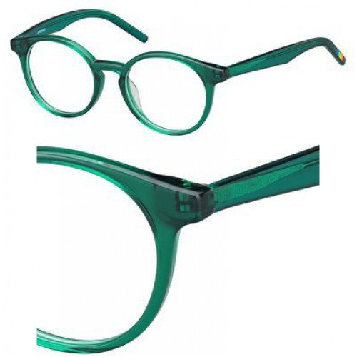 Polaroid PLD D800 C6U 47 Gafas de sol, Verde (Green), Unisex Niños
