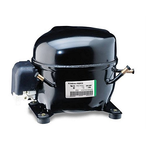 Compressore R404A R507 ermetico - 1/2 Hp - 12,1 cm3 - Embraco Aspera NEK6213GK