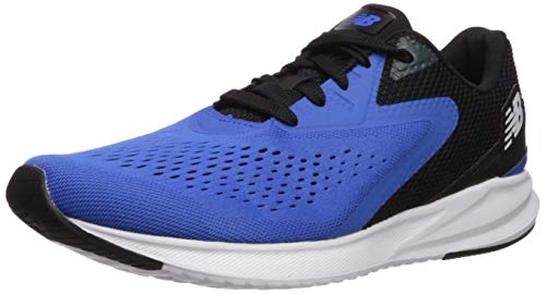 New Balance Men's Viz Pro Run V1 FuelCell Sneaker, Vivid Cobalt/Black/Blue, 13 4E US