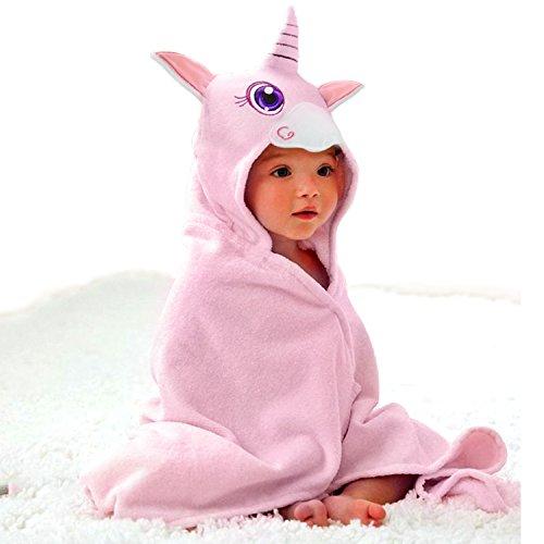Baby Hooded Towel Upsimples Unicorn Baby Towels