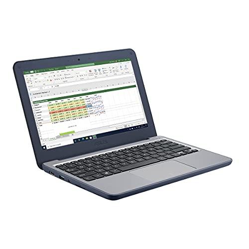 ASUS Laptop with 3 Year Warranty - W202 11.6' HD Laptop (Intel Celeron N3350, 4GB RAM, 64GB eMMC, Windows 10 Professional)