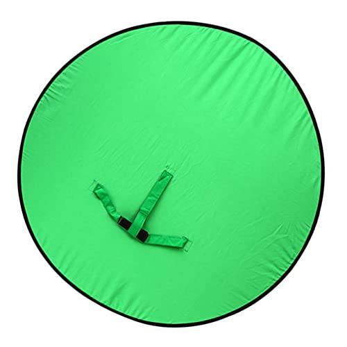 OSALADI Fondo de Pantalla Verde para La Silla Portátil de La Cámara Web Fondo Plegable de Fotografía para La Oficina en Casa Video Conferencia Estudio de Youtube
