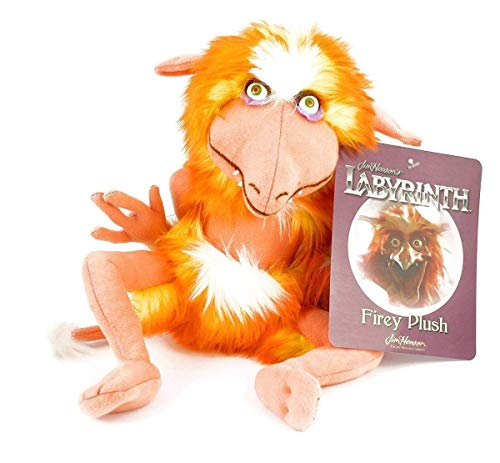 Toy Vault Labyrinth Firey Plush, Creature Stuffed Toy from Jim Henson's Labyrinth Classic Movie