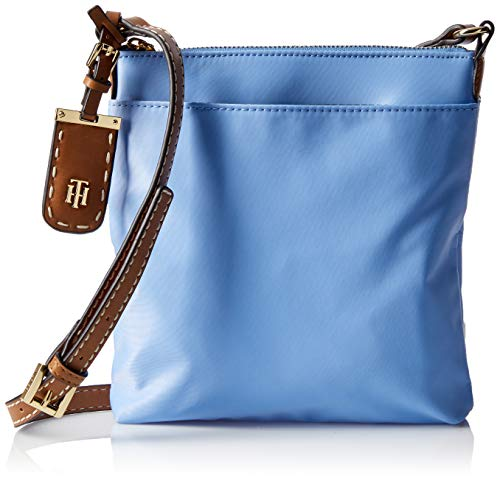 Tommy Hilfiger Crossbody Bag for Women Julia, Light Iris Blue