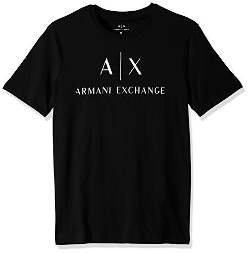 Armani Exchange Herren 8NZTCJ T-Shirt, Schwarz (Black 1200), X-Large