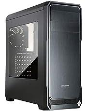 PC-TECHデスクトップパソコン最新第9世代i5-9400F搭載 / グラフィックスカードGT710(3画面出力対応HDMI+DVI+D-SUB対応) / DDR4-8GB / 高速&大容量SSD 240GB + HDD 1TB 搭載/スーパーマルチDVDドライブ/Windows 10 pro / Office2016 (Core i5モデル)