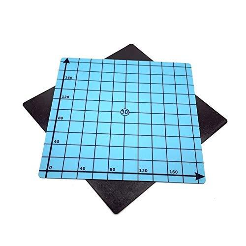 XBaofu 1PCS Magnetic Print-Bett-Aufkleber-Band 3D-Drucker 220 * 220mm Koordinaten Printed Hot Bed Oberflächen Aufkleber Blue for 3D-Drucker-Teile (Größe : Blue)