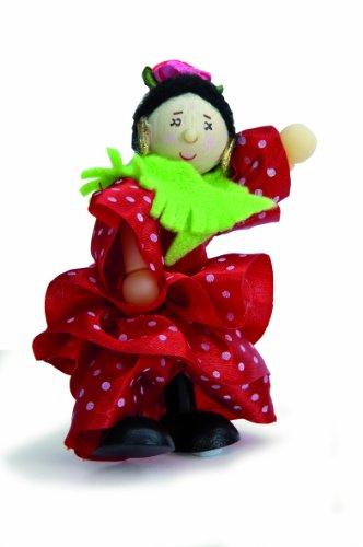 Le Toy Van BK710 Budkins Rosita Danseuse espagnole Flexible Doll