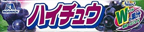 森永製菓 ハイチュウ グレープ 12粒入