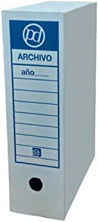 Caja archivo definitivo tamaño folio 350x255x100 mm (25