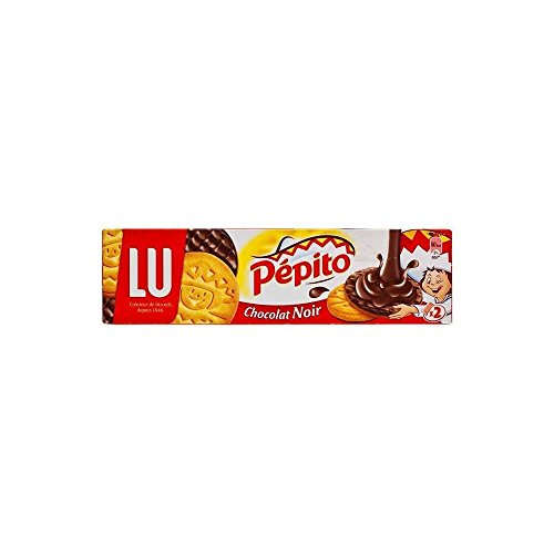 Lu Biscotti Pepito Cioccolato Fondente (200g) (Confezione da 2)