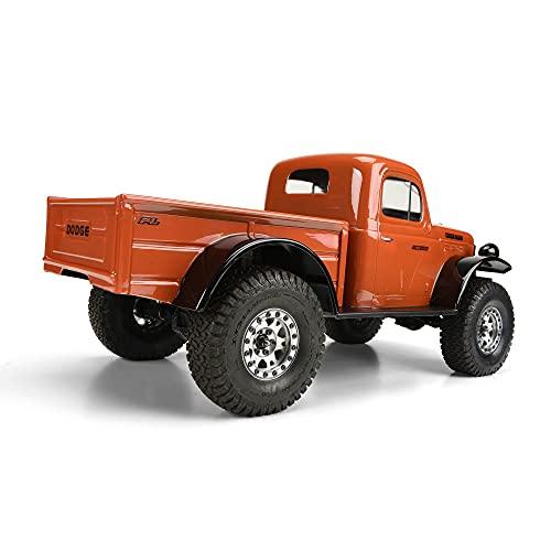 Pro-line Racing Clear Body, 1946 Dodge Power Wagon with 12.3 Wheelbase: 1/10 Rock Crawlers, PRO349900