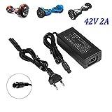 Chargeur de Batterie 42V 2A Adaptateur Secteur pour Mini Scooter électrique...