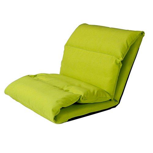 Unbekannt Fu Man Li Trading Company Lazy Sofa kreatives einzelnes zusammenklappbares Wohnzimmer bequemes und Breathable Schlafzimmer schwimmende Fenstermatte A+ (Farbe : Grün)
