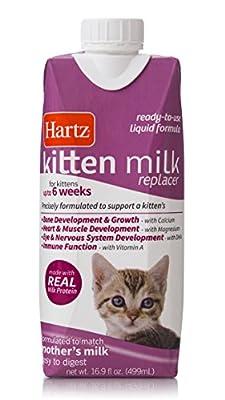 Hartz Liquid Kitten Milk Replacer Formula - 16.9Oz