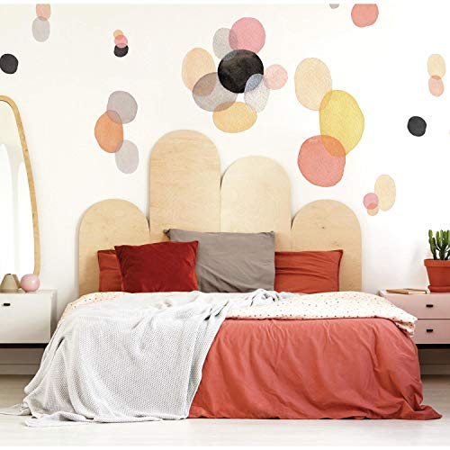 RoomMates Abstract Watercolor Shapes Peel And Stick Giant Wall Decals
