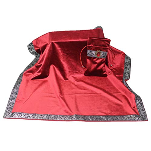 Modonghua Juego de mesa Wicca Juego de mesa Adivinación Entretenimiento Altar Portátil...