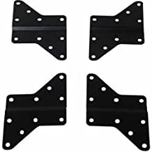 Husky Mounts 4 Universal VESA Adapters Extenders Converts 200x200 Mount to fit 400X400, 400x200, 400x300 and 300x300 Patterns, Flat Screen TV Wall Mount Bracket Extensions