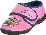 Brandsseller - Zapatillas de estar por casa para niña, con logotipo de la Patrulla Canina, color Rosa, talla 28/29 EU