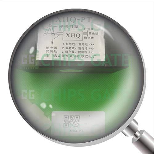 1Pcs 12V XHQ-PT Electric Throttle Adjuster Electromagnetic Stop Solenoid Off-P