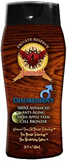 Disobedient for Men Tanning Lotion