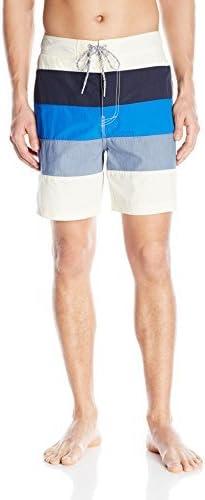 Nautica Men's Quick-Dry Color-Block Boardshort